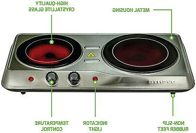 Infrared Double Electric Hot Plate