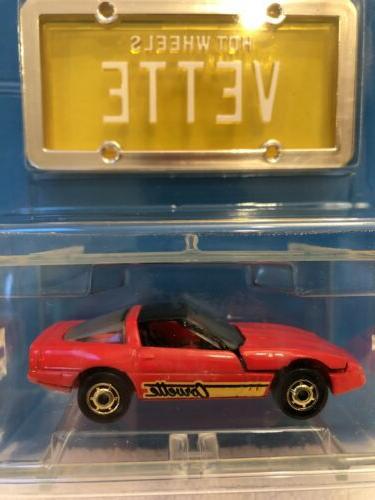 Lot 2 1998 Hot Plates, 80's Corvette Sol CX-4, New