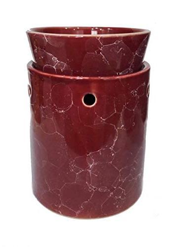 marble decorative ceramic tart warmer
