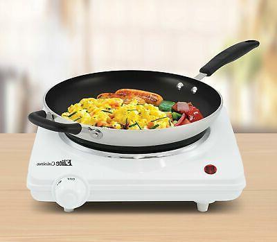 Maxi-Matic ESB-301F Elite Cuisine Single Hot Plate,