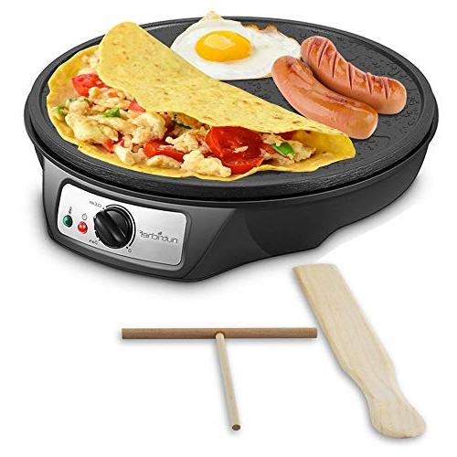 nonstick electric crepe maker