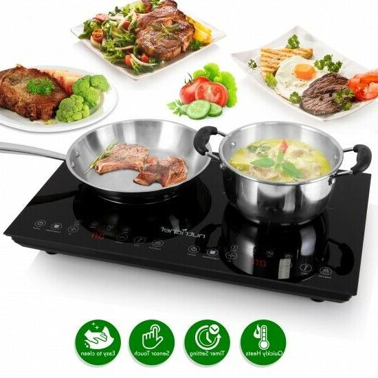 pkstind48 induction cooktop digital countertop burner w