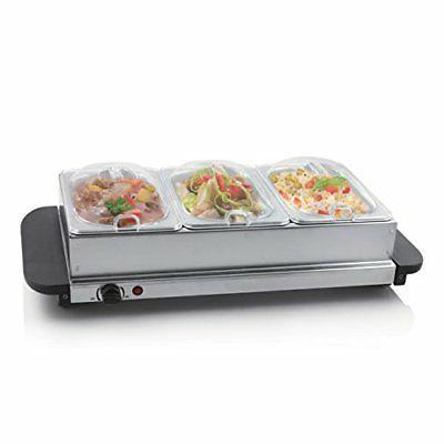 plate food warmer buffet server