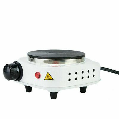 Portable 500W Stove Plate Coffee Heater US