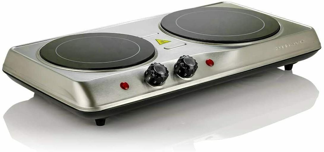 infrared cooktop burner