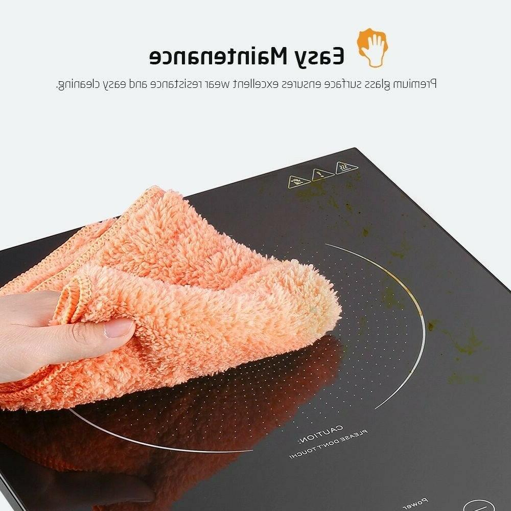 Portable Cooktop Sensor Touch Kids Safety Lock