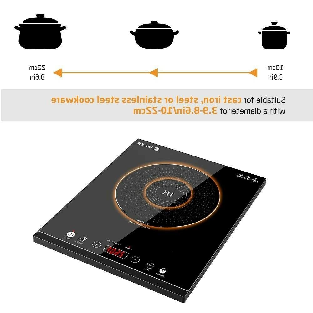 Portable Sensor Electric Cooker Kids Lock