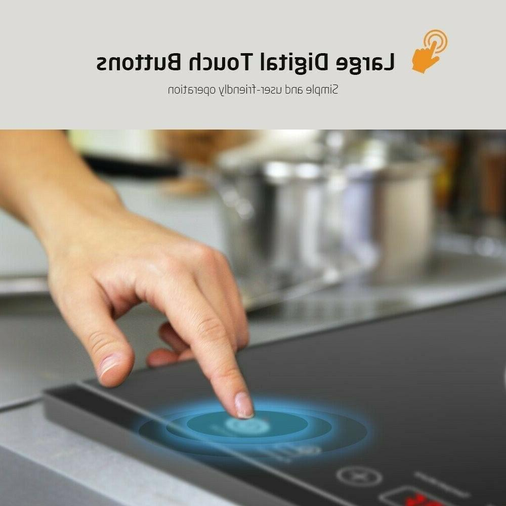 Portable Cooktop Sensor Electric Cooker Kids Lock