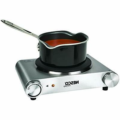 Portable Electric Single Hot Plate Stainless Steel