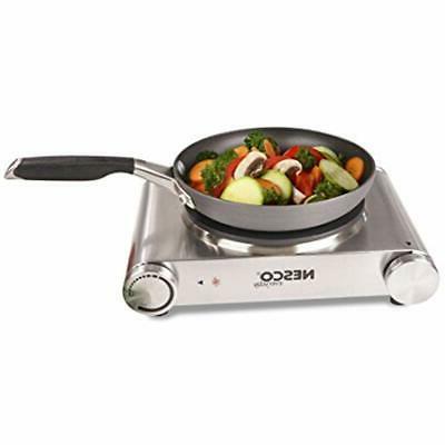Portable Single Hot Steel Kitchen 1500W