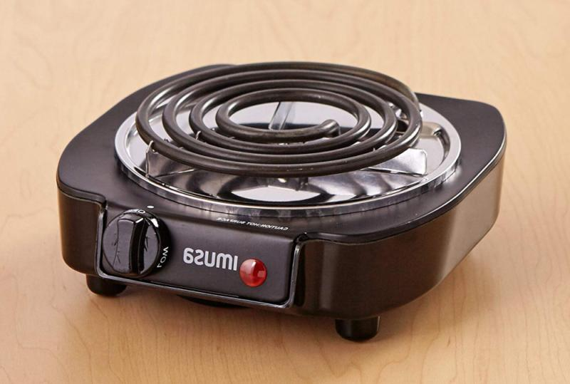 Portable Electric Burner Hot Dorm RV Travel Cooking