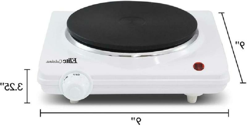 Portable Cast Iron Hot Plate Stove Cooker Us