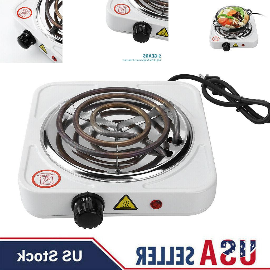 portable single electric burner hot plate cooktop