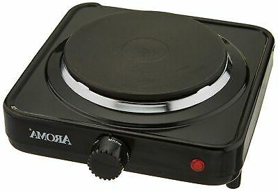 Portable Single Electric Hot Plate Stove Dorm RV Cook