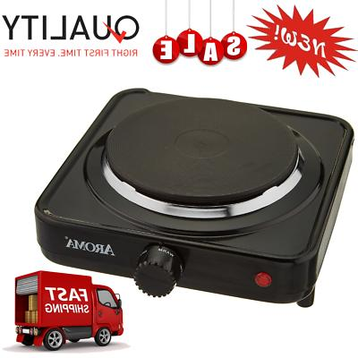 portable single electric burner hot plate stove