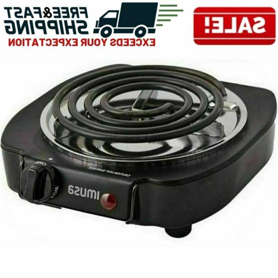 portable single electric burner hot plate stove