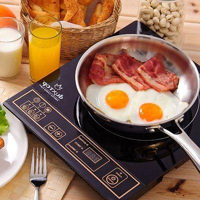 Secura 8100MC 1800W Induction Cooktop Gold