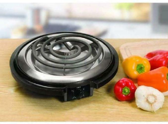 Single Burner Electric Portable Travel Compact Plate