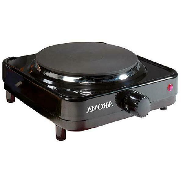 Aroma Single-Burner Portable Electric Range Hot Plate, Ahp-3