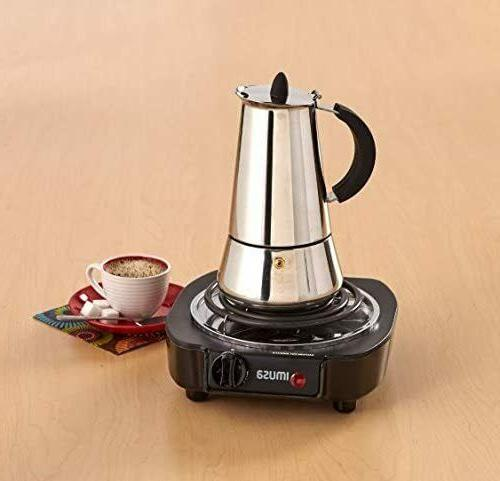 Portable Electric Hot Plate Countertop Cooking