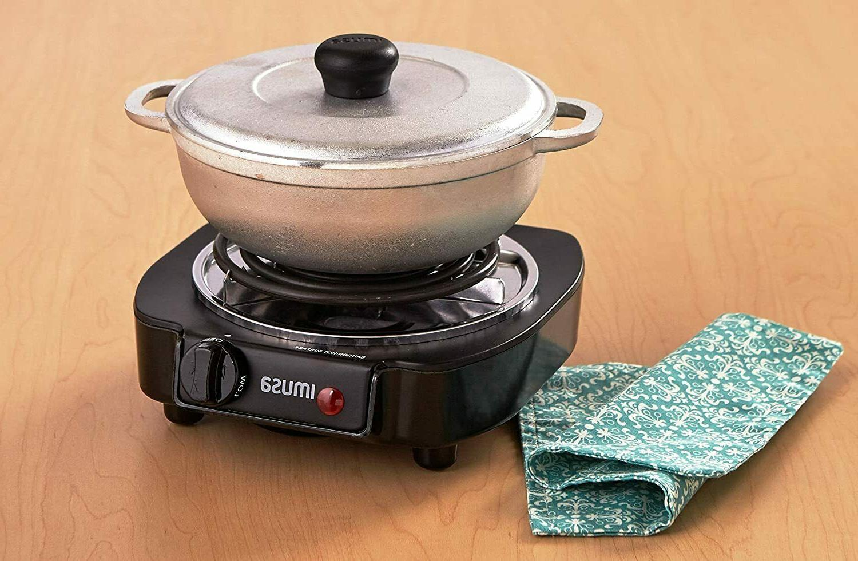 Portable Single Electric Hot Countertop Cooking