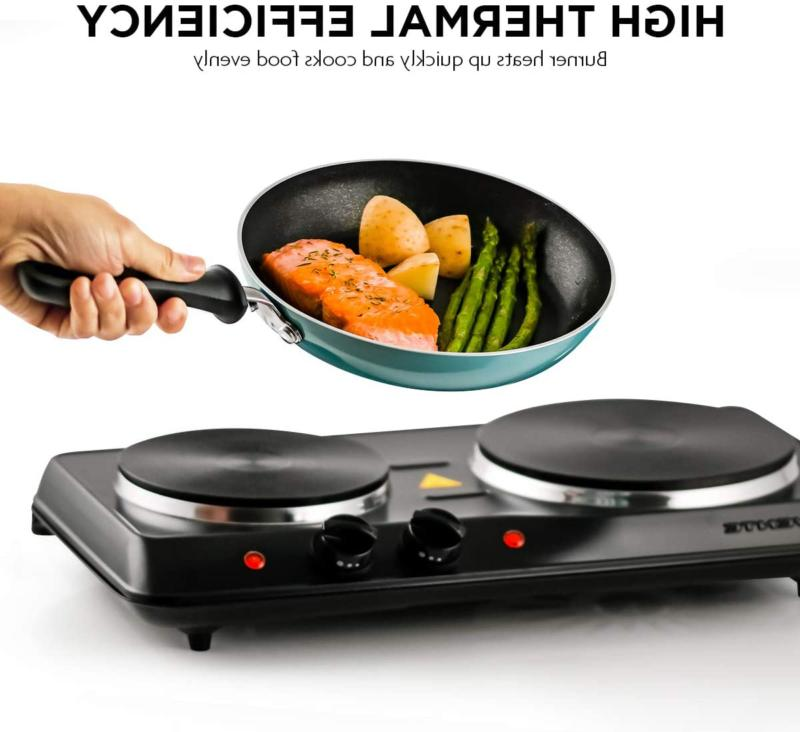 Small Stove Top 2 Double Hot Plate
