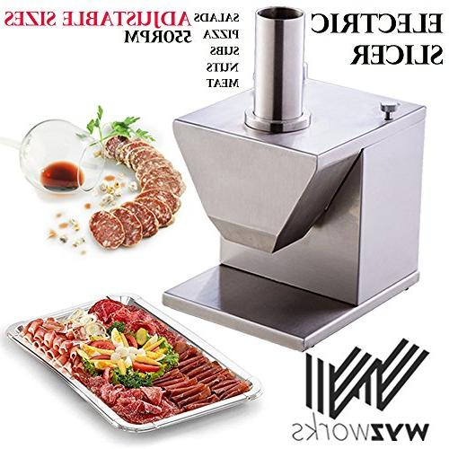 stainless steel electric chopper dicer