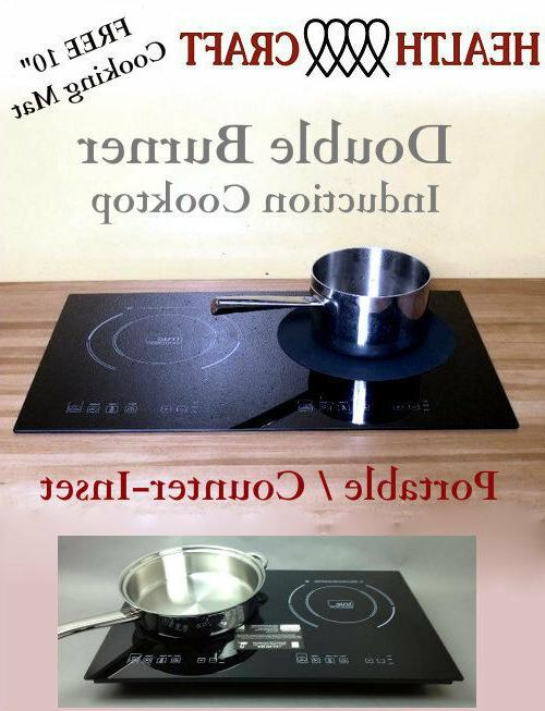 Health Craft Counter Inset Double Burner Induction Cooktop 1