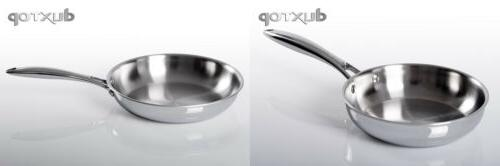 whole clad stainless steel induction ready premium