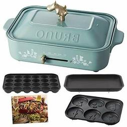Limited Moomin Bruno Compact Hot Plate Multi 3 Pieces Takoya