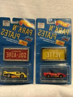 lot of 2 1998 park n plates