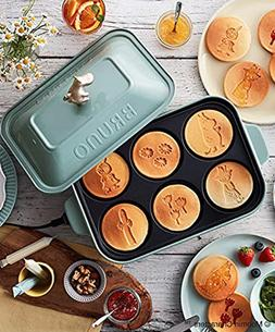 Moomin product BRUNO Moomin Compact Hot Plate Blue Green Fro