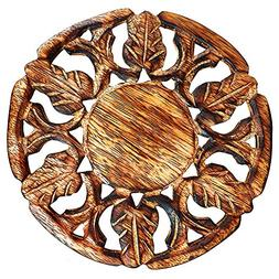 Fathers Day Gifts Handmade Wooden Trivet For Hot Dishes Plat