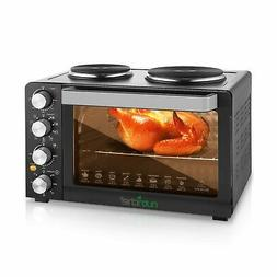 NutriChef Multi function Countertop Oven Rotisserie Cooker w
