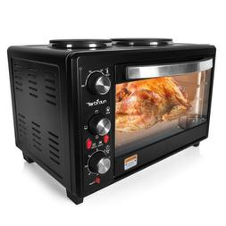 Multifunction Kitchen Oven, Countertop Rotisserie Cooker wit
