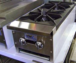 """NEW 12"""" Hot Plate 2  Burner Gas Cook Top  Stratus SHP-12-2 #"""