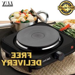 AROMA Single Burner Hot Plate Portable Electric Cooktop Stov