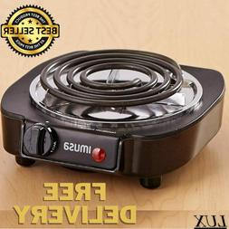 NEW Portable Single Electric Burner Hot Plate Counter Stove
