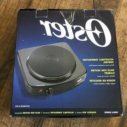 NEW Oster Single Burner Hot Plate 900 watts CKSTSB100-B-015