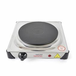 New Single Ring 1500W Portable Electric Hot Plate Hob Carava