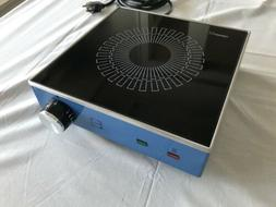 NEW Vintage SCHOTT CERAN Blue Induction Portable Ceramic Gla