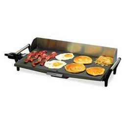 Cadco PCG-10C Griddle, electric, 21 x 12 cast grill area, ch