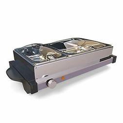 NutriChef PKBFWM25 Electric Food Warming Tray Buffet Server