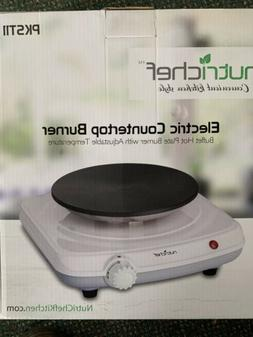 NutriChef PKST11 Electric Countertop Burner Buffet Hot Plate