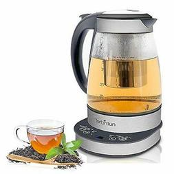 New! NutriChef PKTM15 2-in-1 Electric Kettle - Tea Brewing K