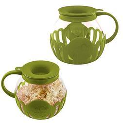 Ecolution  Popcorn Maker Glass Microwave Popcorn Popper With