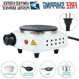 Portable 500W Electric Mini Stove Hot Pot Heating Plate Cook