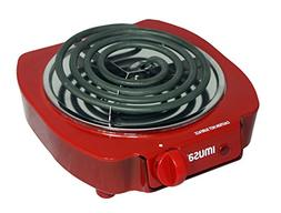 Portable Small Compact Electric Single Burner, Hot Plate Coo
