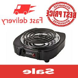 Portable Cooking Electric Single Burner 1100W Countertop Sto