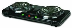 Salton Portable Cooktop Double Burner Induction Electric Gas
